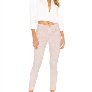 Current Elliot Jeans Leopard Pink 27